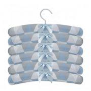 Jogo Cabide 6 Pçs Losango Azul R10322 - Laura Baby 105294