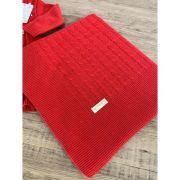 Jogo Manta Vestido Tam P Vermelho 1805 - Chandra 106174