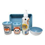 Kit Higiene 5 Pçs Bichinhos 13396 - Plasútil 108124
